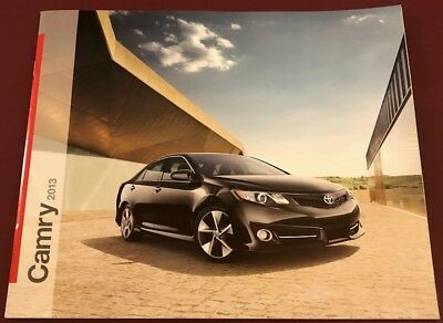 2013 Toyota Camry Sales Brochure, From a Smoke Free Home