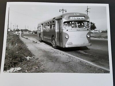 Photo Bus Mack C-50 New York City Transit Nycts Nycta 1940's Q-44 Queens