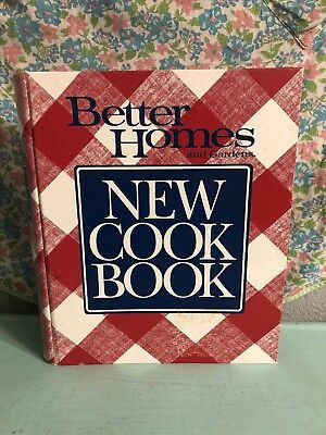 Vintage Better Homes and Gardens New Cook Book 1990 10th Edition 3rd Printing