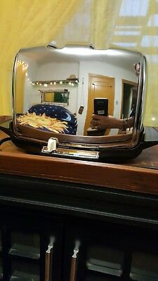 Vintage Chrome Sunbeam  Automatic Toaster 2 Slice Radiant Control functions well