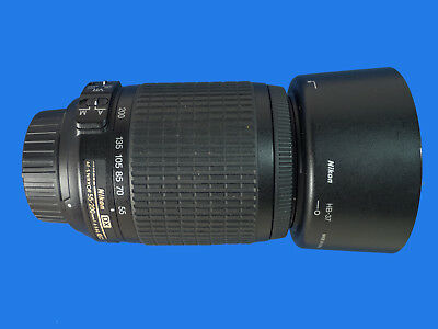 Nikon DX AF-S Nikkor 55-200mm F/4-5.6 G SWM VR ED Lens C/W Hood and Caps