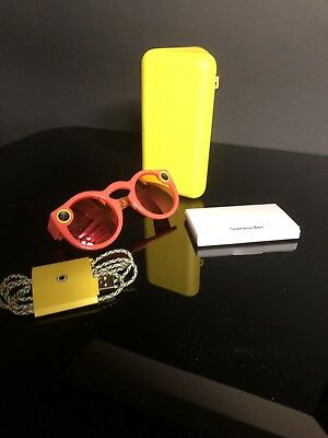 Snapchat Spectacles Sunglasses in Coral
