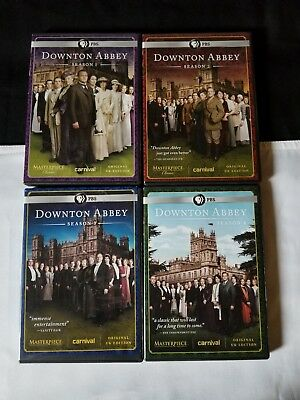 Downtown Abbey UK Edition PBS Season's 1-4-PBS WGBH Boston