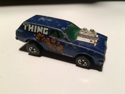 Hot Wheels Poison Pinto The Thing Blackwall 1970's