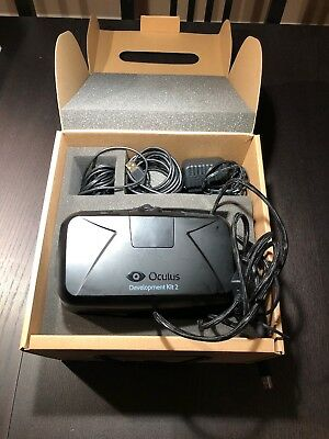 Oculus Rift DK2 VR Headset lightly used
