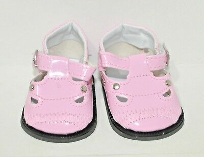 """American Girl Doll Our Generation Journey Girl 18"""" Dolls Clothes Pink Shoes"""