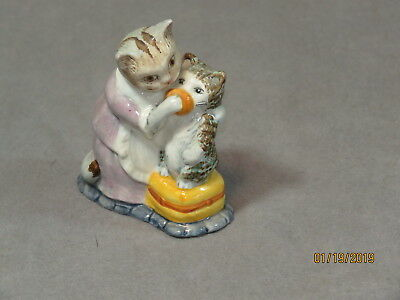 Exclt Beswick England Beatrix Potter *tabitha Twitchit & Miss Moppet* Figurine