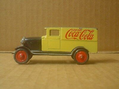 Coca Cola Die cast Chevrolet Delivery Truck ~ 1980s ~ PAC