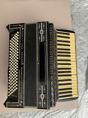 Vintage Cesare Pancotti Piano Accordeon Made In Italy Accordion