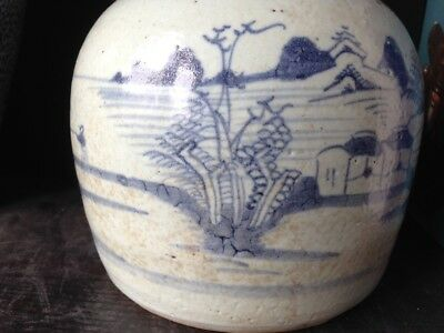 Shipwreck Chinese antique Jar - Late Ming