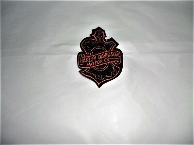 Harley Davidson Motor Co. Cloth  Hat Patch - Vintage - Mint - NOS