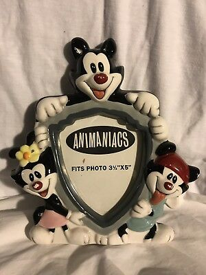 Rare Warner Brothers Animaniacs Ceramic Picture Frame!