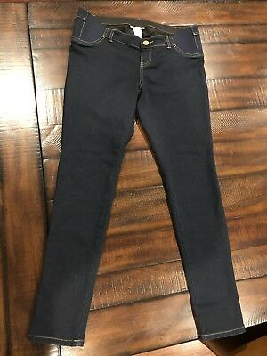Liz Lange Maternity Skinny Jeans With Inset Panel Size Small 4-6