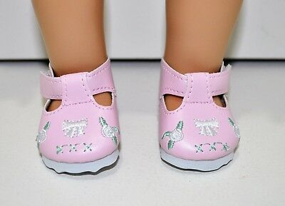 American Girl Dolls Clothes Our Generation 18 Doll Clothes Pink White Bows Shoes