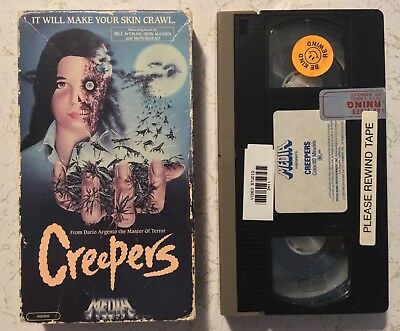 Creepers VHS Horror Media Home Entertainment