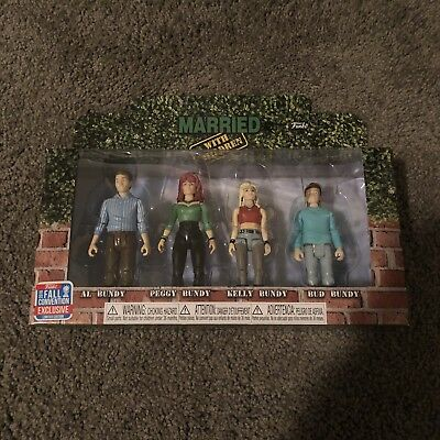 Funko Action Figures Married with children NYCC 2018 Exclusive