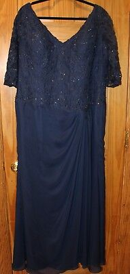 MGNY Madeline Gardner New York Mother of the Bride Dress Size 20