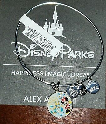 Alex And Ani Disney Travel Passport Minnie Its A Small World Bracelet Silver