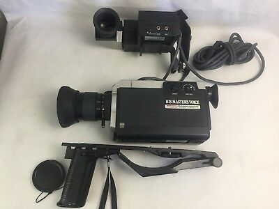 His Masters Voice - VC-3  - Movie Camera - With Shoulder Rest and View Finder -
