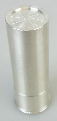 Solid Pure Silver .999 5 Oz In The Shape Of A Shotgun Shell/Bullet/Cartridge