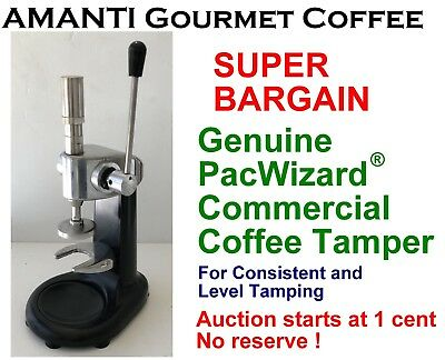 BARGAIN Genuine Consistent Level PacWizard(R) Coffee Tamper +BONUS AMANTI Coffee