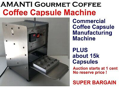 ** SUPER BARGAIN ** Commercial Nespresso COFFEE CAPSULE MANUFACTURING MACHINE