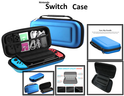 EVA Sottile Borsa Custodia Rigida Case Per Nintendo Switch Giochi e Accessori