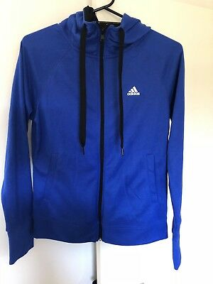 Adidas blue jacket Size Small BRAND NEW