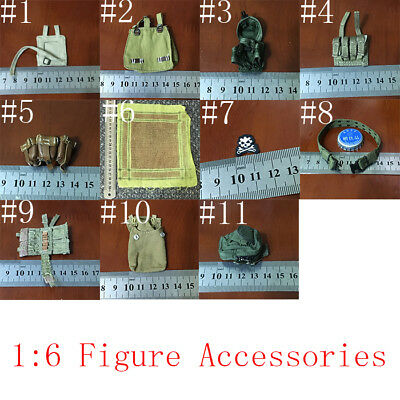"""1:6th Scale Action Figure Accessories For 12"""" male&Female Body Doll Toys"""