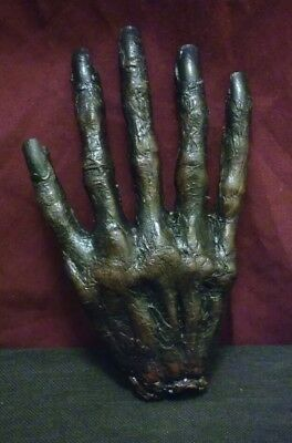 Mummified Hand,ooak,sideshow Gaff,oddity,haunted,bizarre,horror,obscure