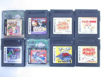 Nintendo GB Game Boy Color Soft Tested Lot of 8 Game Japan Import JP