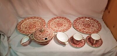 A Selection of 1870's Minton China.