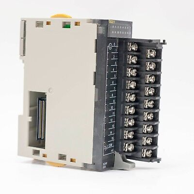 Omron CJ1W-OD211 PLC Output Unit - Missing clear plastic covers