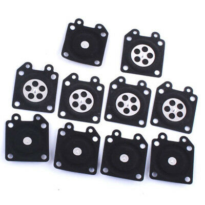 10 X Metering Diaphragm Replaces Assembly For Walbro 95-526 Carburetor Gasket