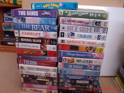 Selection Of Bulk Videos, Great Titles, Disney Etc. All In Very Good Condition
