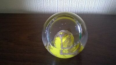 Caithness Limited Edition Cannes March 1984 Paperweight ~ (LE 497 OF 1500)