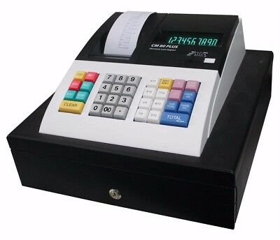Olympia CM80+ Cash Register with Locking Drawer- Brand New
