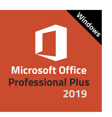 MICROSOFT OFFICE 2019 PROFESSIONAL PLUS, LICENZA x 1 PC, ESD, 30 LINGUE, FATTURA