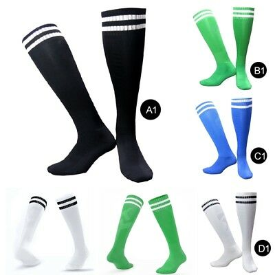 Unisex Football Plain Socks Rugby Hockey Soccer Free Delivery Mens Womens