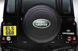Land Rover Defender Vinyl Wheel Cover - 235 x R16 tyres - STC7665AA