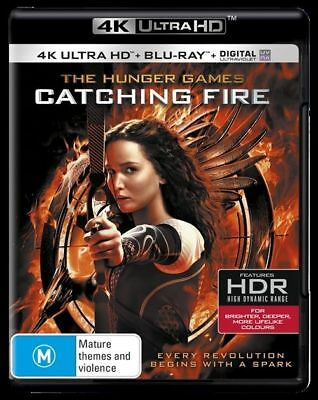 The Hunger Games - Catching Fire 4K Ultra HD : NEW UHD Blu-Ray