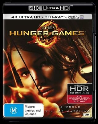 The Hunger Games 4K Ultra HD : NEW UHD Blu-Ray