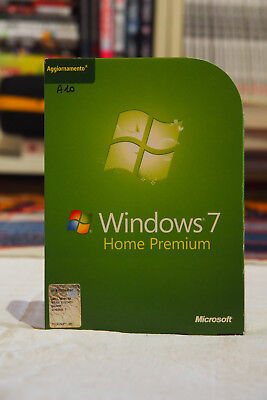 Windows 7 Home Premium Vup Dvd 32/64Bit Italian Spedizione Dvd Originali + Coa