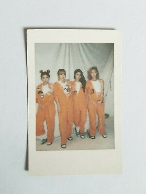 "K-Pop Mamamoo 1St Album ""melting"" Official Limited Mamamoo Polaroid"
