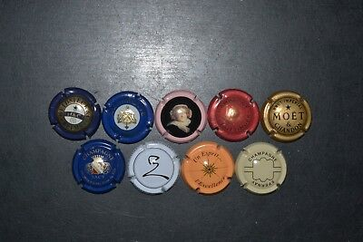 9 champagnecapsules