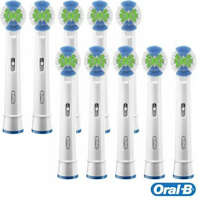 10 x Oral-B Precision Clean Electric Toothbrush Replacement Bacteria Guard Heads