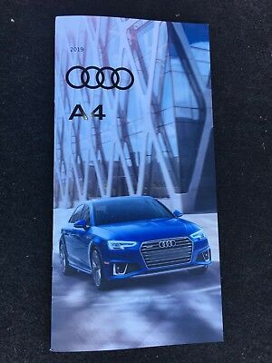 2019 AUDI A4 28-page Original Sales Brochure
