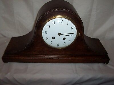 Lovely Large French Japy Freres Napolian Hat Style Mantle Clock .