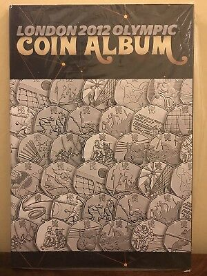 London 2012 Olympic Games 50p Collectors Coin Album for the Full Set of 29 Coins