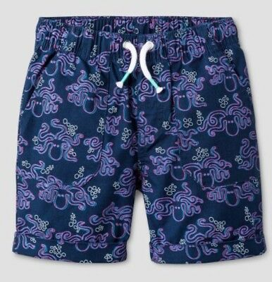 Brand New Target 3D Octopus Cat And Jack Toddler Boys Shorts 2T